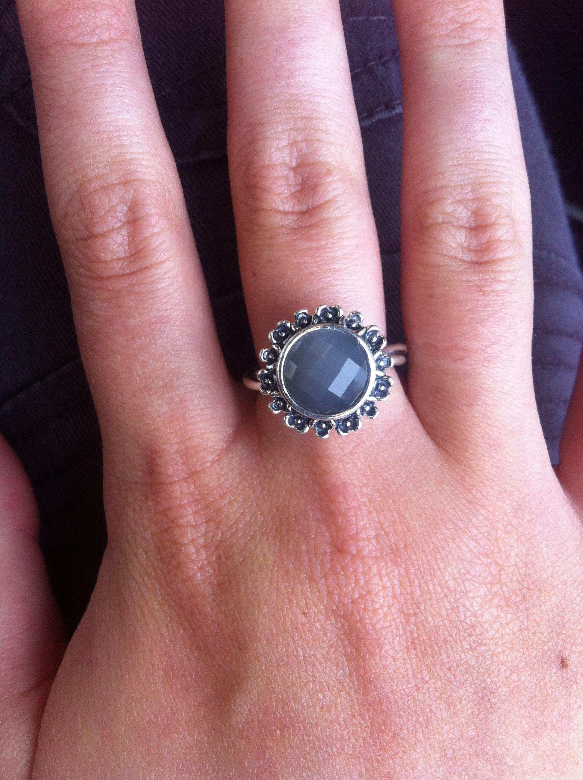 My new Pandora ring! 3 year anniversary present from Ian! Love it ...