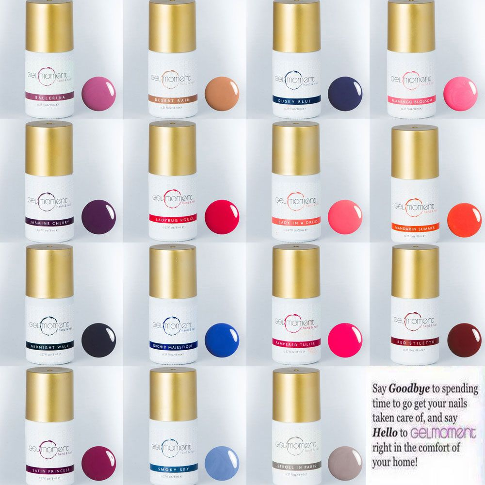 Gel Moment is a new gel nail polish taking the nation by storm if ...