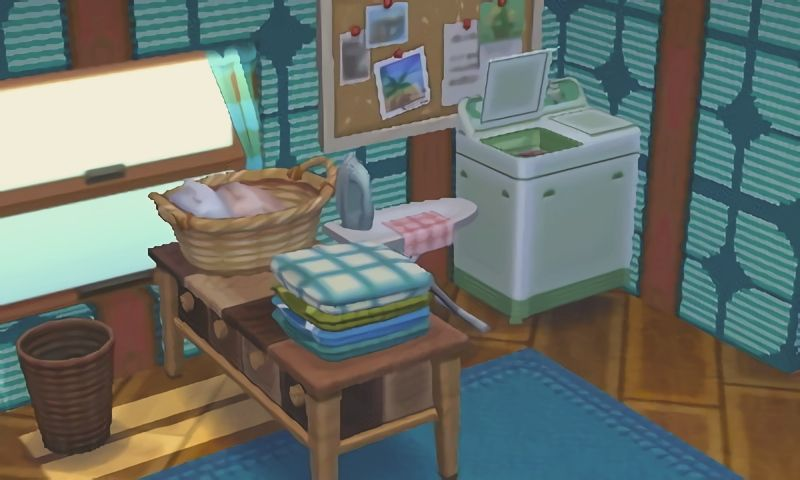 Cute Little Laundry Corner For Animal Crossing Bree A Tidy Home