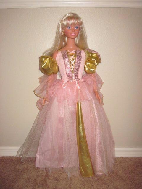 Vintage Barbie Doll 1992 3ft Life Size Doll Mattel Dolls My