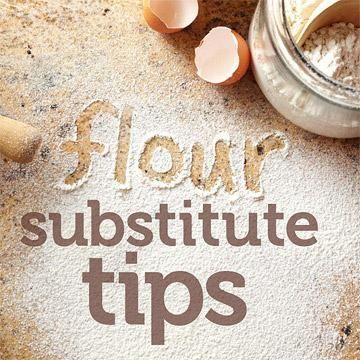 """Healthy Baking: Flour Substitutes With a name like """"all-purpose,"""" it's no wonder basic white flour can keep bakers in a one-type rut. But wh..."""