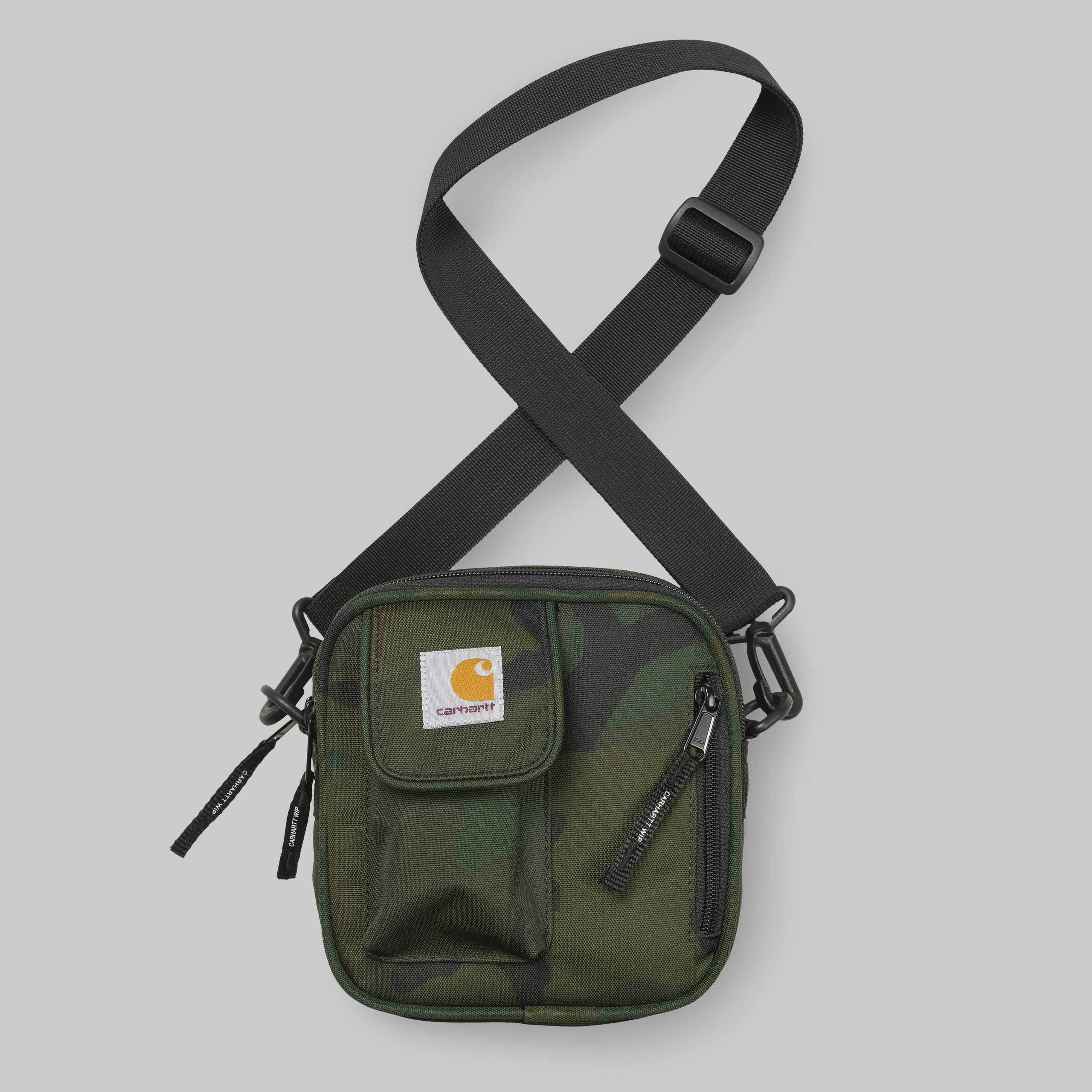Carhartt Wip Essentials Bag Small Wipcom Product In Niion Hipbag Camo Navy