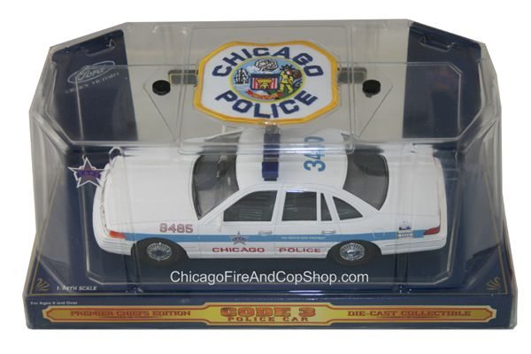 9024 Code 3 Chicago Police Department Ford Crown Victoria Chicago Fire Department And Chicago Poli Police Department Gifts Chicago Fire Department Chicago Fire