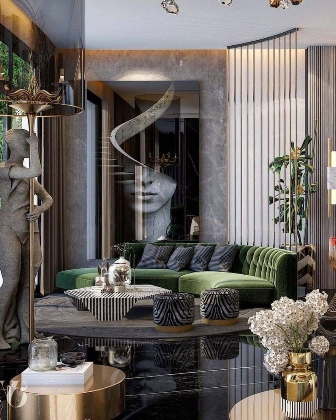 Playful Interior Design Ideas And Bright Room Colors Luxury Living Room Living Room Design Modern Luxury Home Decor