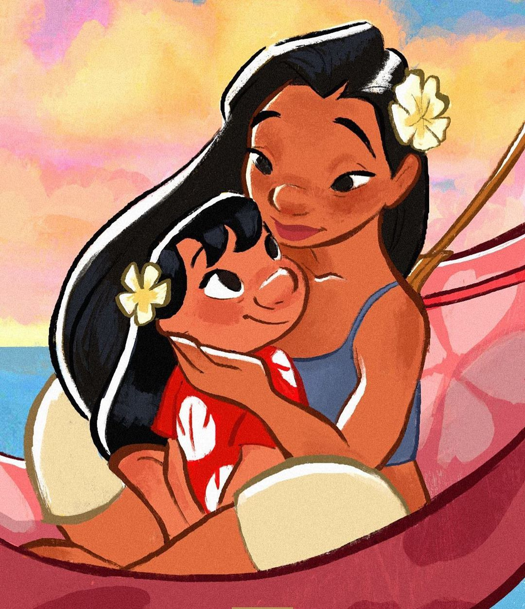 """Oh My Disney (@ohmydisney) on Instagram: """"Here are the reasons why Nani is the sister I stan: • Raises Lilo like her own 🤗 • Works hard to…"""""""
