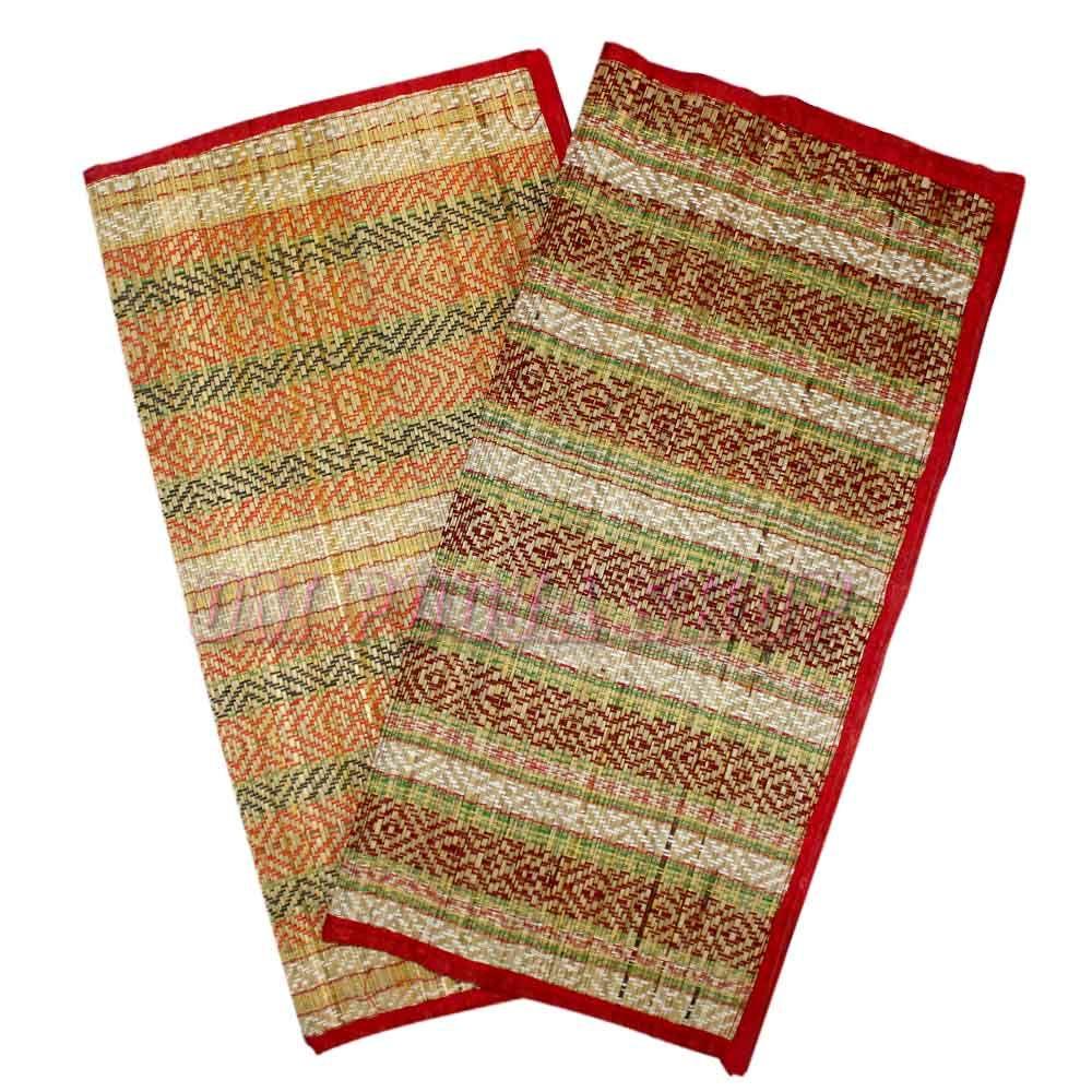 Kusha Aasan For Dhyanam Mantra Jaap Meditation Mat Mantras Color Design