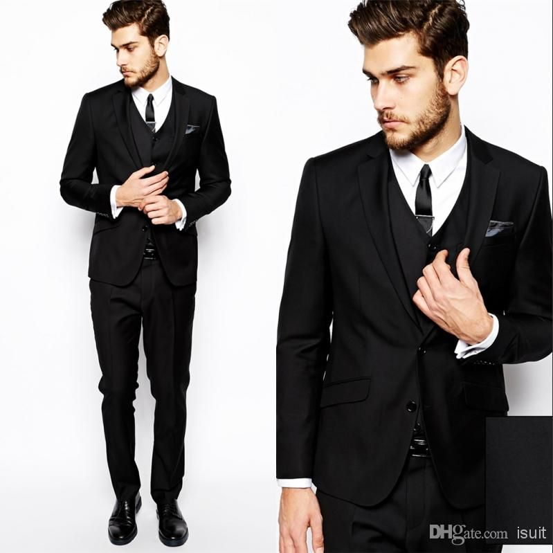 Cheap Blazers for Men - Best Formal Dresses Leather Jacket Custom Made Mens Fashion Wedding Morning Groom Tuxedos Business Prom Cheap Jacket Pants Vest Ns004 Online with $62.83/Piece | DHgate