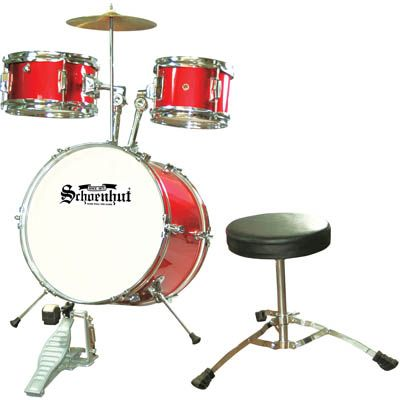 Schoenhut 5-Piece Drum Set - Red 149