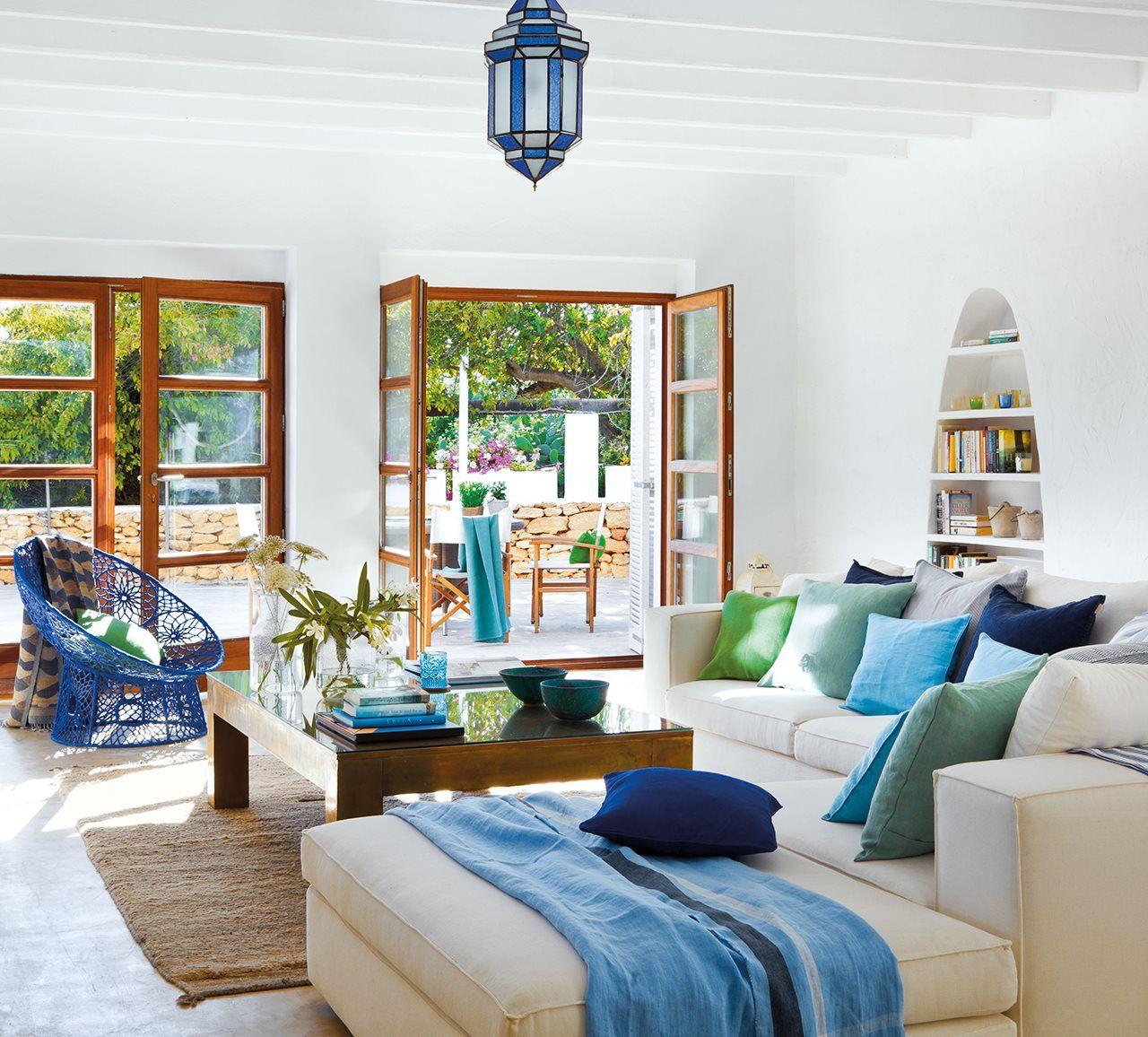 12 ideas en azul para este verano en 2020 Interiores de