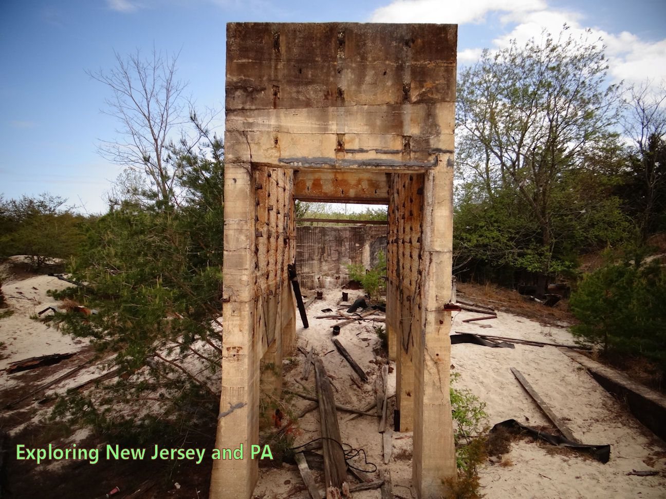 Fries Mills NJ Ruins - check out on FB: Exploring New Jersey and PA
