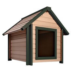 New Age Pet 3 125 ft x 3 025 ft x 3 516 ft posite Dog House