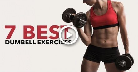 7 Best Dumbbell Exercises for Women (FULL BODY WORKOUT #dumbbellexercises 7 Best Dumbbell Exercises for Women (FULL BODY WORKOUT) - #body #Dumbbell #exercises #Full #Women #workout #dumbbellexercises