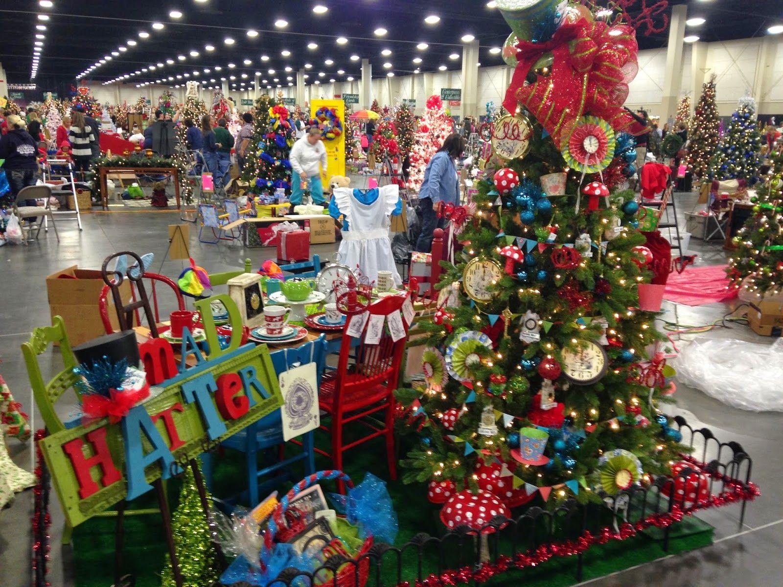 pollyanna reinvents mad hatters tea party christmas tree - Christmas Pollyanna
