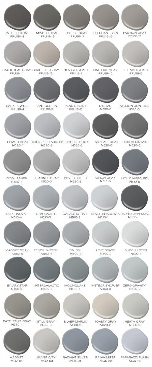 Painted Furniture Ideas | 4 Tips to Find the Perfect Gray Paint Color - Painted Furniture Ideas #bedroomfurnitureideas
