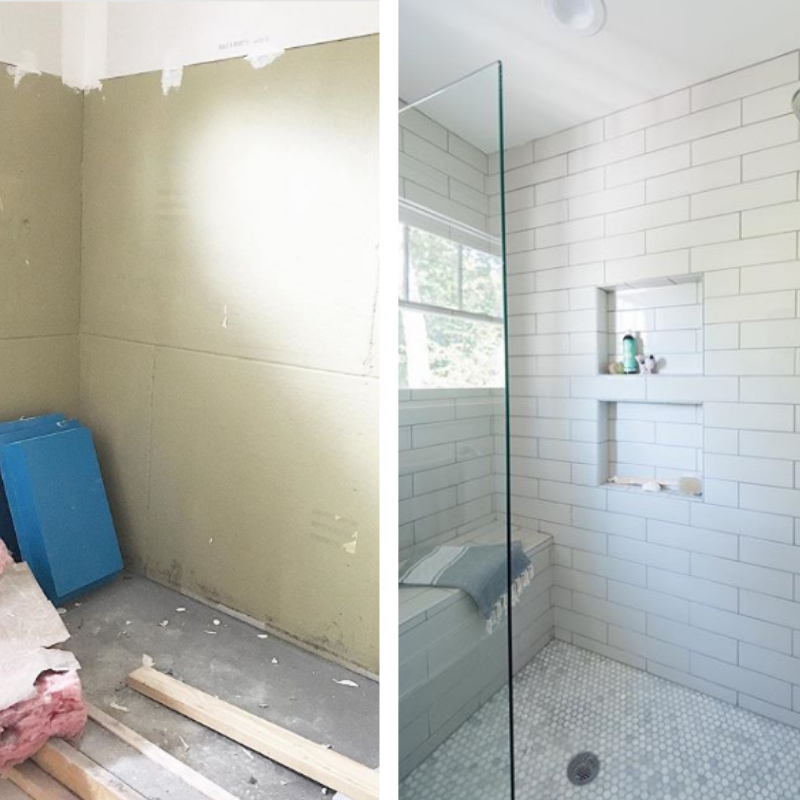 Install Abs Injected Molded Plastic Shower Niches In Under 20