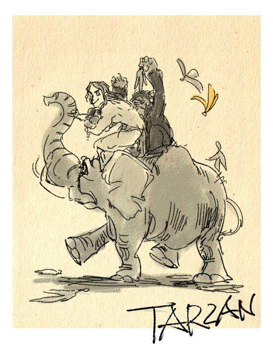 Tarzan by Masuo