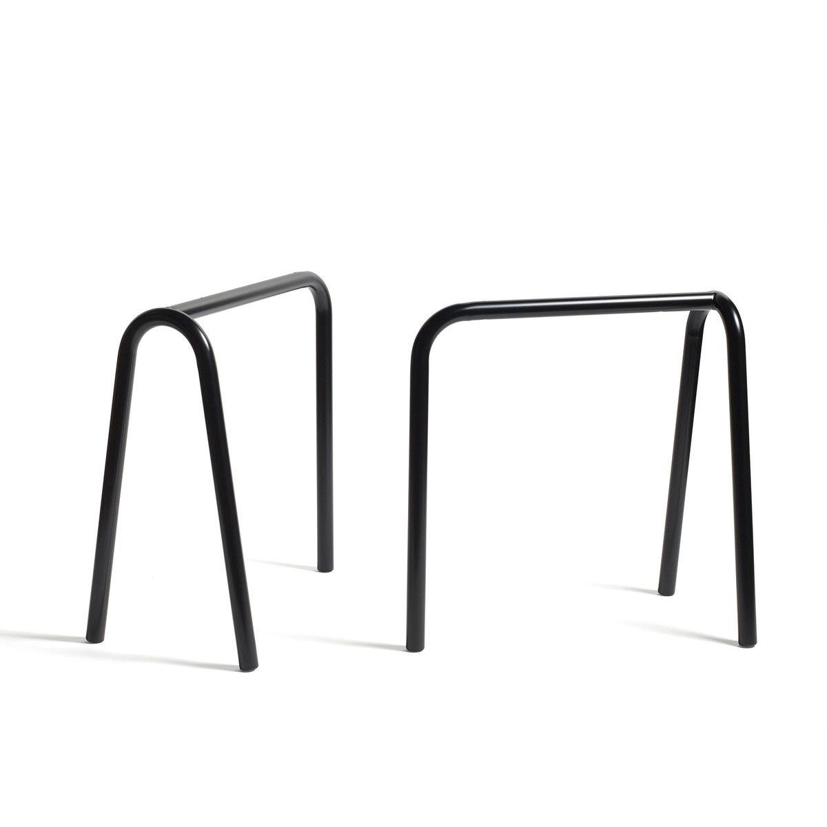 Hay Tischböcke hay loop tischböcke stand frame schwarz 2 stück tables