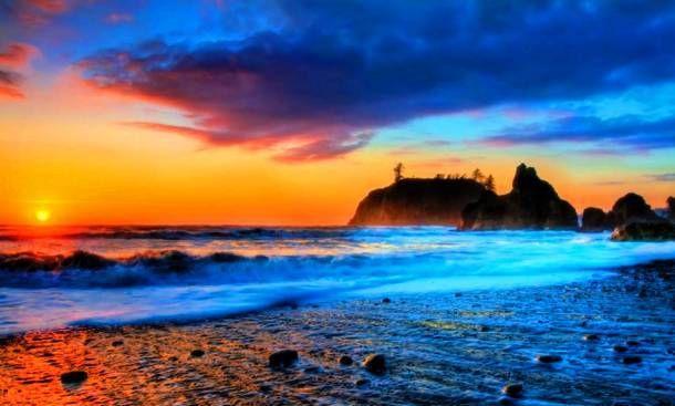 25 Jaw Dropping Hawaiian Landscapes Beach Sunset Wallpaper Beach Sunset Sunset Wallpaper
