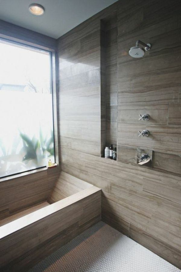schöne badezimmer fliesen textur dusche wanne | Bad | Pinterest ...