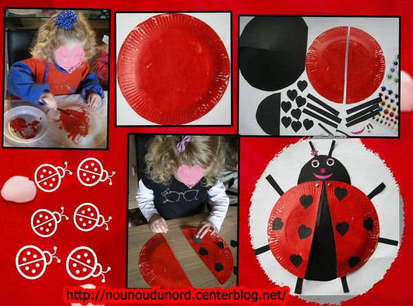nounoudunord bricolages avec les enfants autre pinterest bricolage enfants et coccinelles. Black Bedroom Furniture Sets. Home Design Ideas