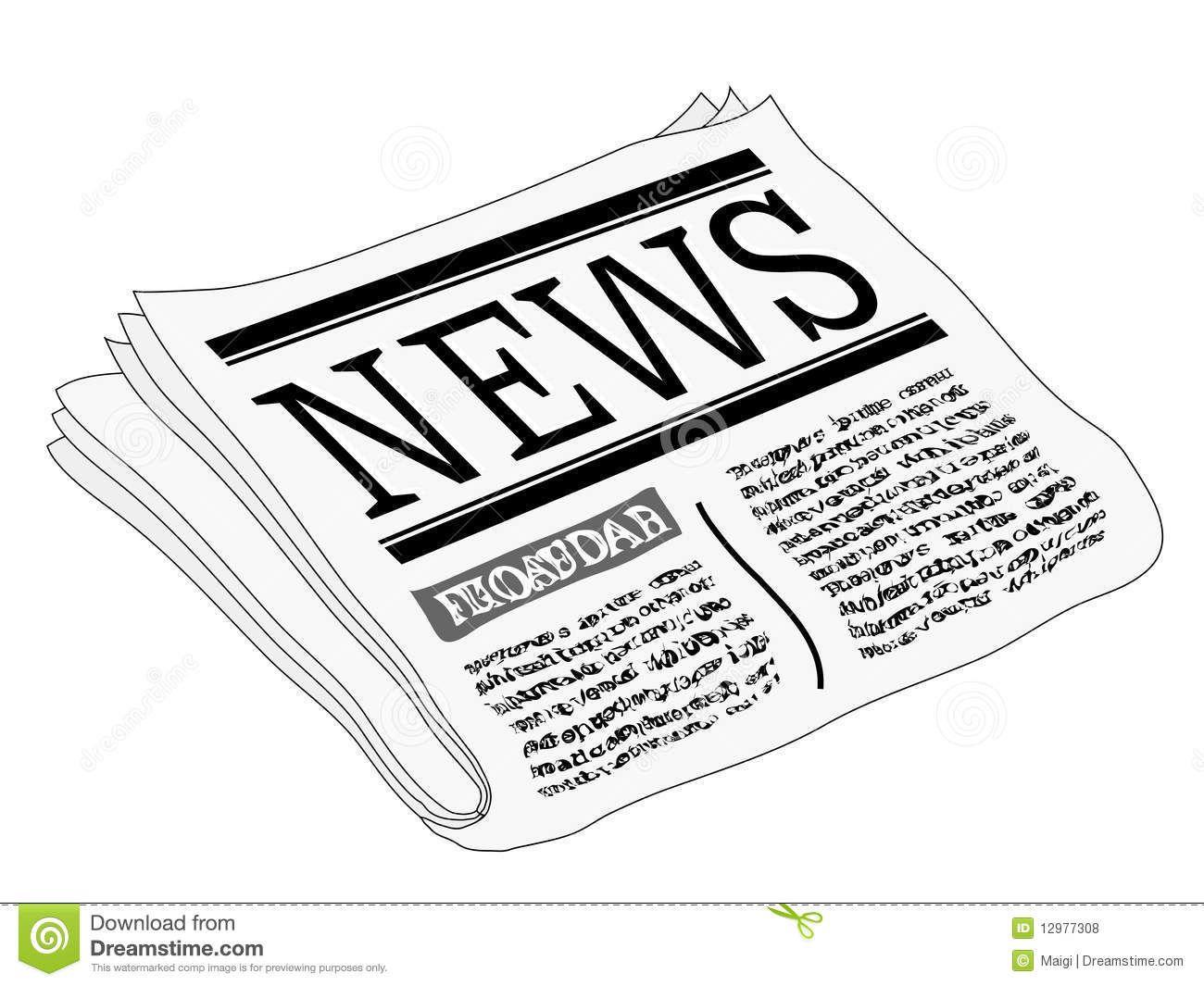 Semaine de la presse  récap' des articles   Clip art, Newspaper ...