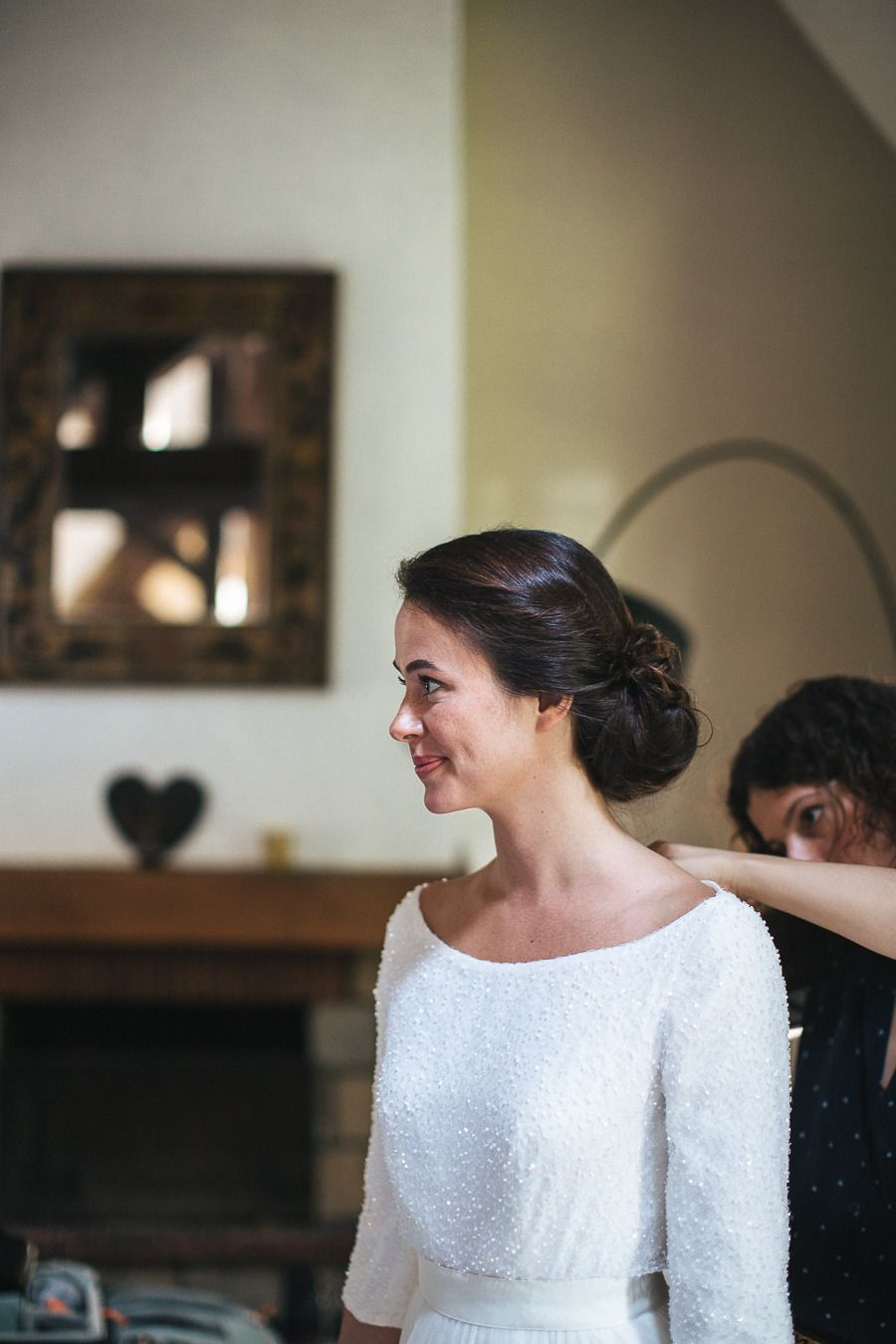 Authentic andresy france wedding formal hair hairspray and hair