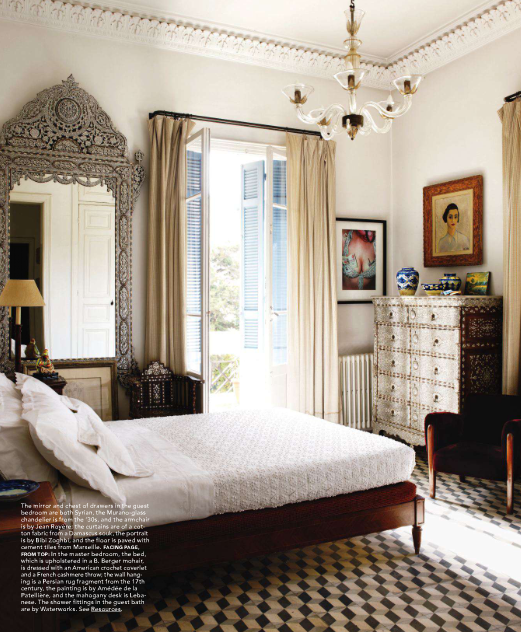 Bedroom Set Designs Interior Design Bedroom For Couple Area Rug Placement Master Bedroom White Vintage Bedroom Furniture: Twelve Chairs Boston: Magazine Monday > An Artful Layering