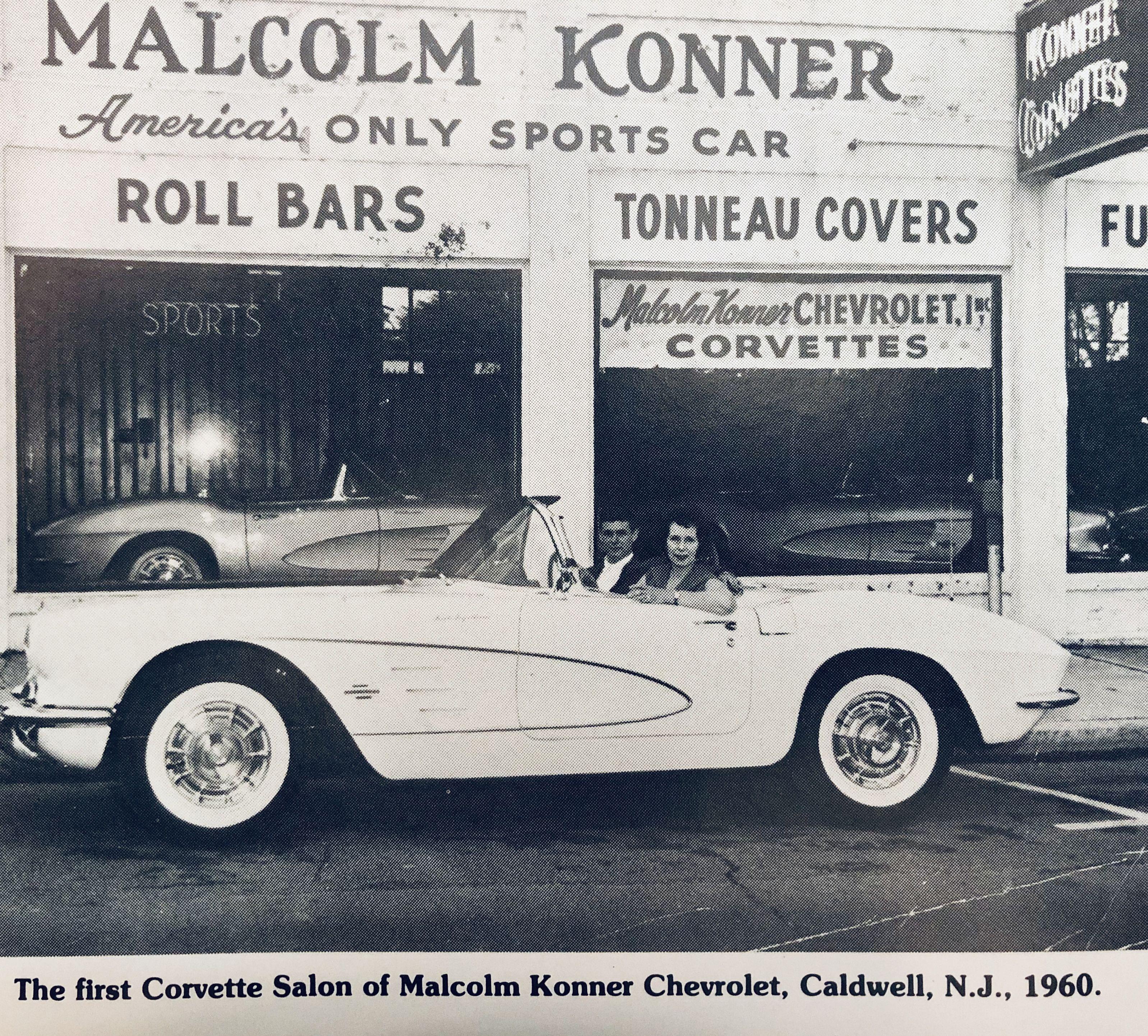 Malcolm Konner Sports Car Salon Circa 1961 Corvette Tonneau Cover Sports Car