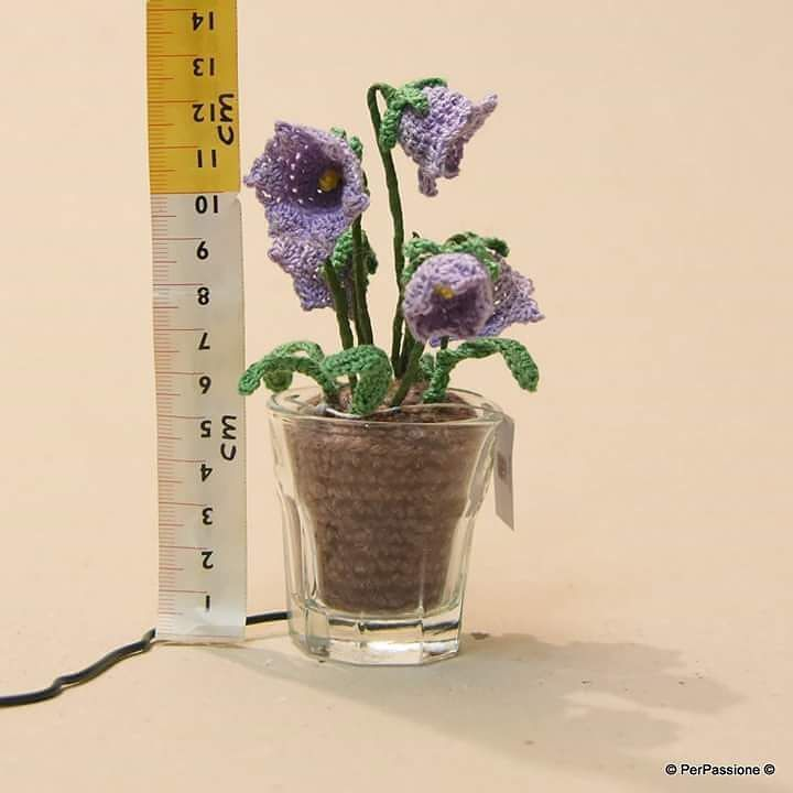 #bellflower #crochetflowers by per.passione2.0