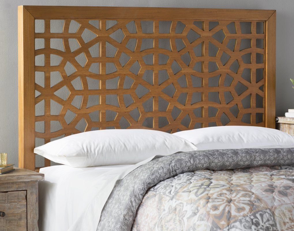 Go with a headboard instead 393 florentin panel - What to use instead of a headboard ...
