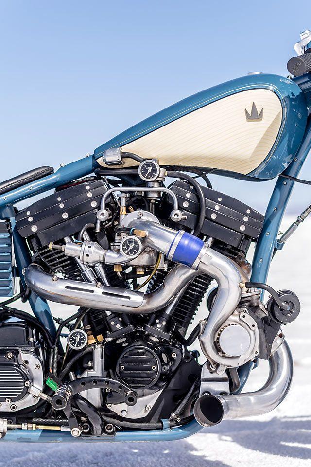 Alter Evo A Harley Turbo Salt Racer By Argentina S Lucky Custom