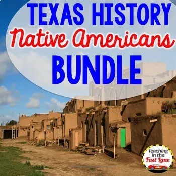 Photo of Native Americans of Texas Bundle with Lesson Plans