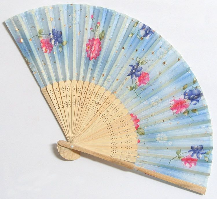 Night Queen - Wall Hanging Fan (Wood and Cloth))   Cloth And Paper ...