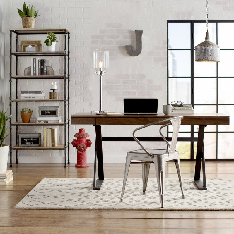 """Shelton 28"""" Table Lamp Industrial office design, Home"""