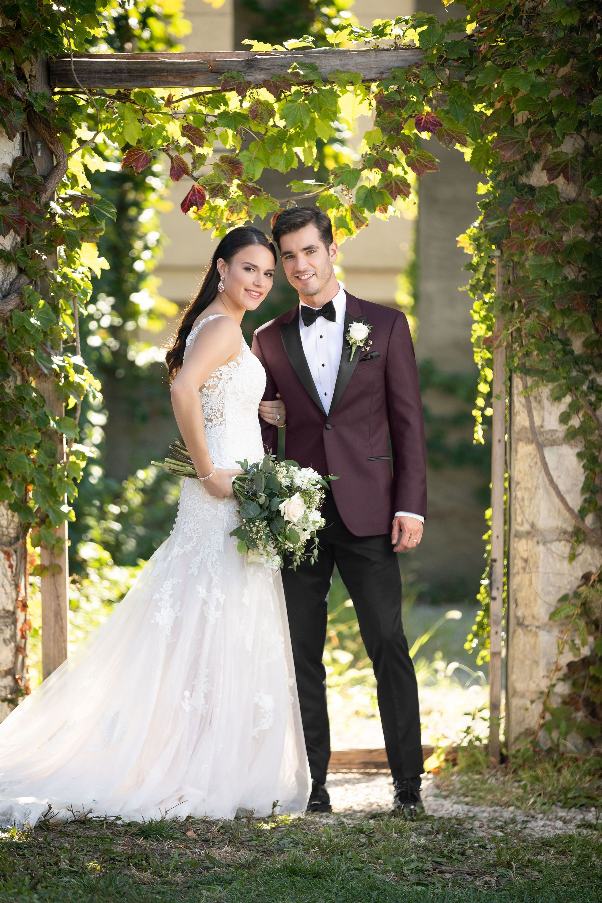 Your wedding day, your way. Build your own tux on our site