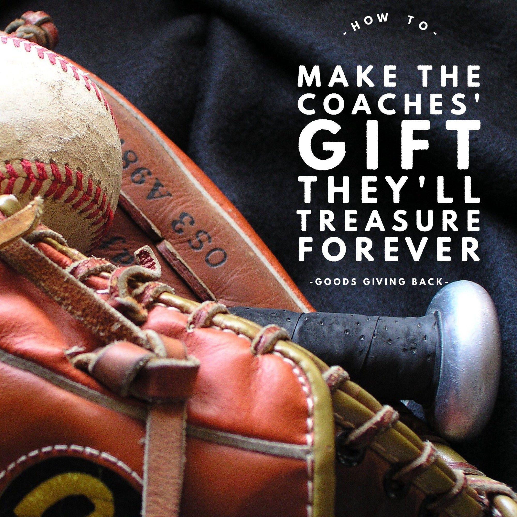 best baseball coach gift