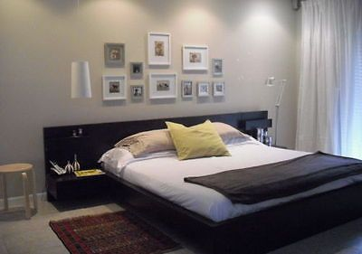 Groovy Ikea Malm Double Bed Including Floating Bed Side Tables Home Remodeling Inspirations Genioncuboardxyz