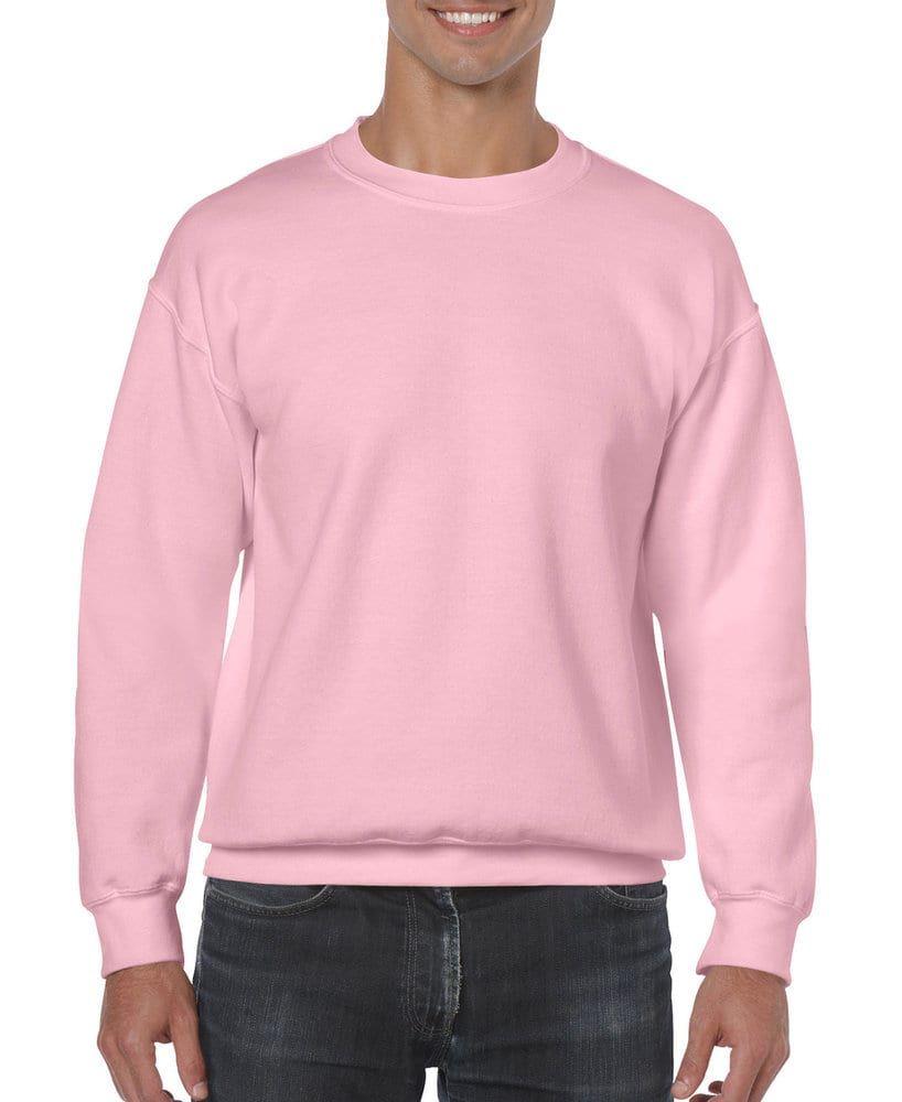 Gildan 18000 Heavy Blend Crewneck Sweatshirt In 2021 Crew Neck Sweatshirt Sweatshirts Long Sleeve Tshirt Men [ 1000 x 818 Pixel ]