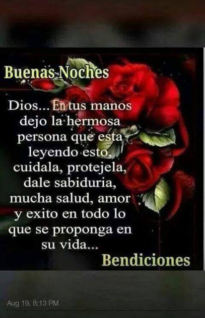 Centro Cristiano Para La Familia Buenas Noches Good Night Quotes Good Morning Good Night Night Quotes