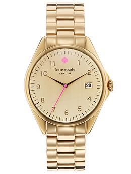 Kate Spade New York Seaport Grand | Piperlime $225; I've never worn a watch, but I kind of love this watch.