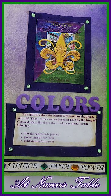Meaning Of Mardi Gras Colors Mardi Gras New Orleans Mardi Gras Cajun Cooking Mardi Gras