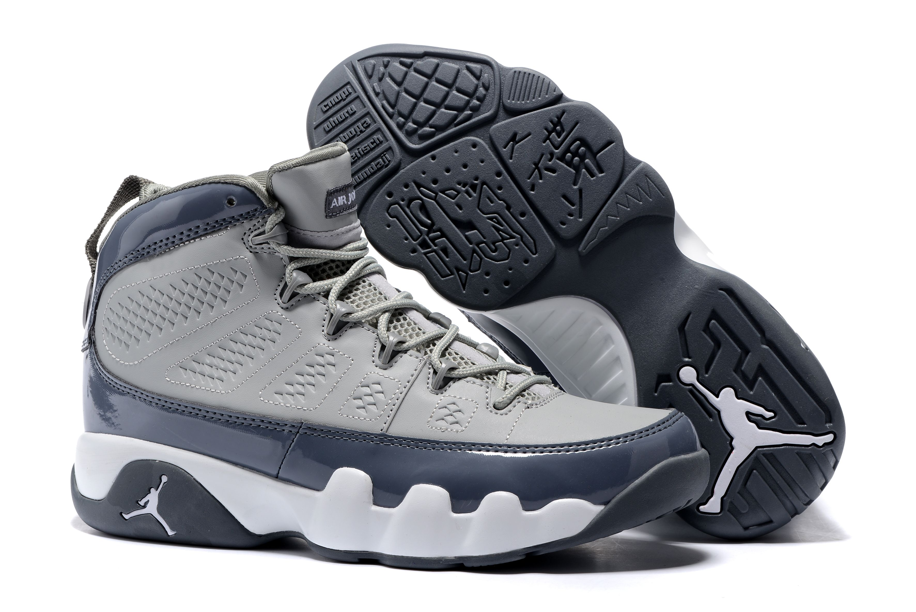 "buy online dd23c c7ec7 Air Jordan 9 Retro ""Cool Grey"" Medium Grey Cool Grey-White 302370-015"