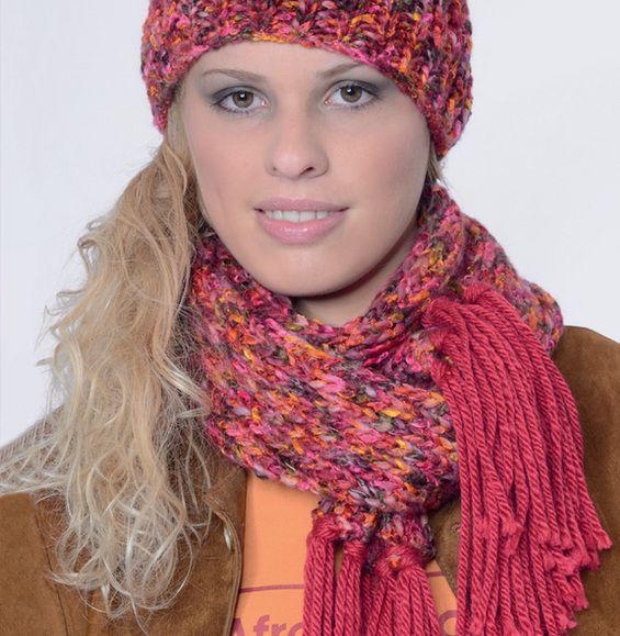 Patrón de bufanda para mujer - Patrones gratuitos para mujeres ...