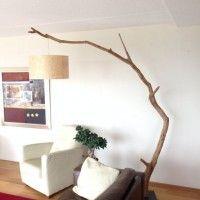 Lampada fai da te diy home decor forniture pinterest - Rami decorativi legno ...