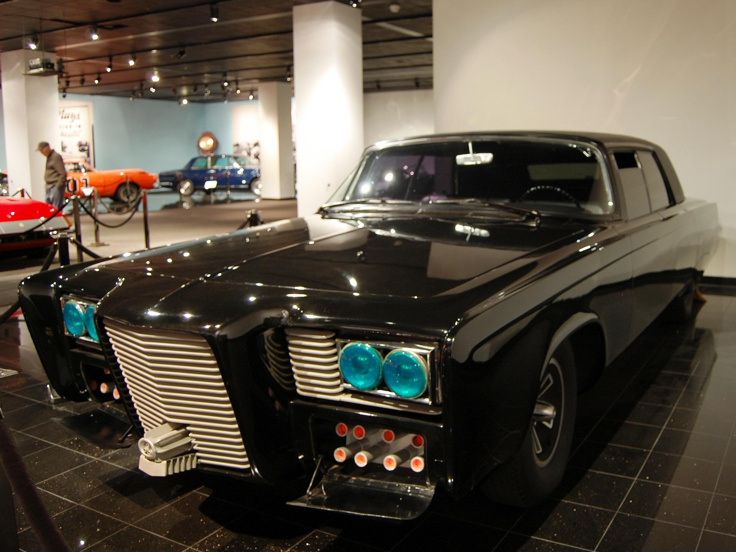 The Green Hornet 1966 Chrysler Imperial Black Beauty Green Hornet