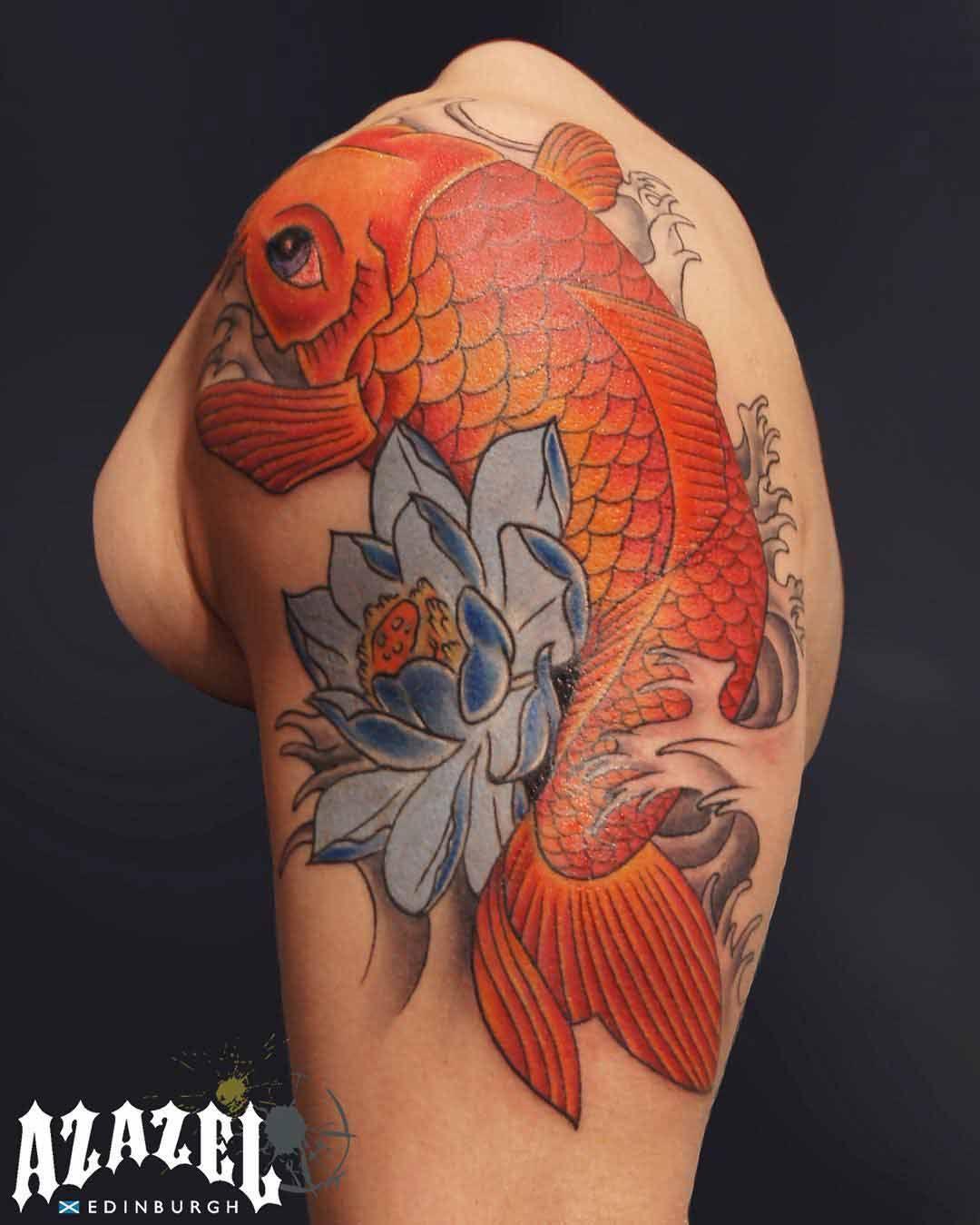 Traditional Japanese Koi Fish Tattoo | Tattoos | Pinterest ...