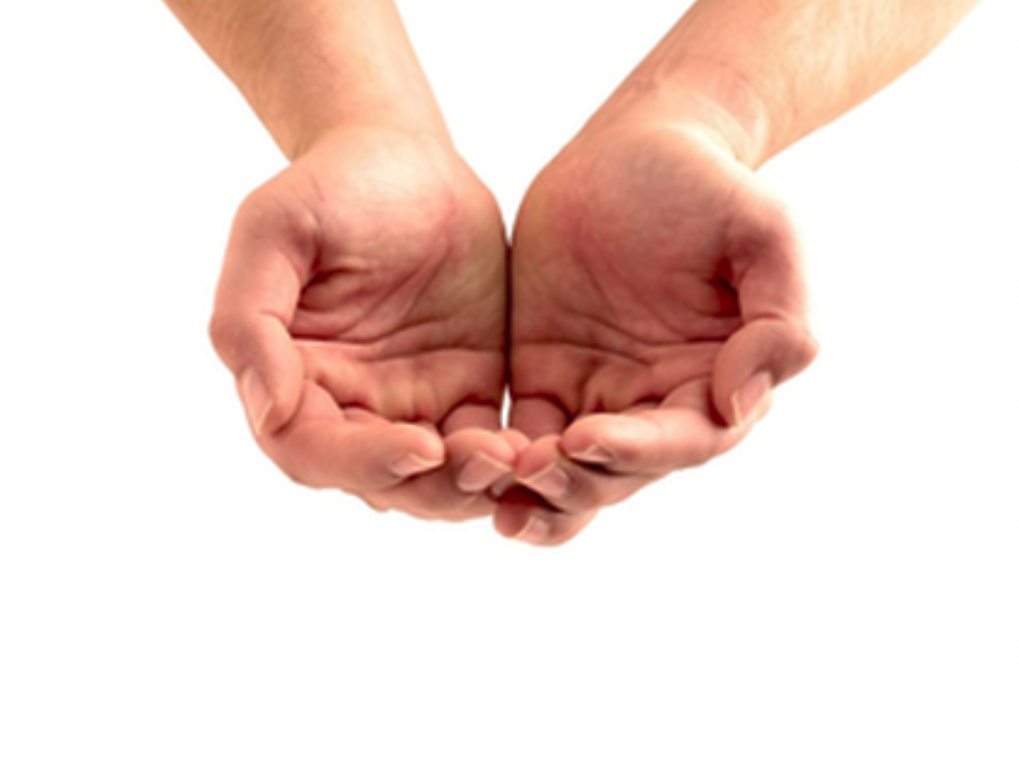 Open Your Hands Hand Reference Cupped Hands Hands