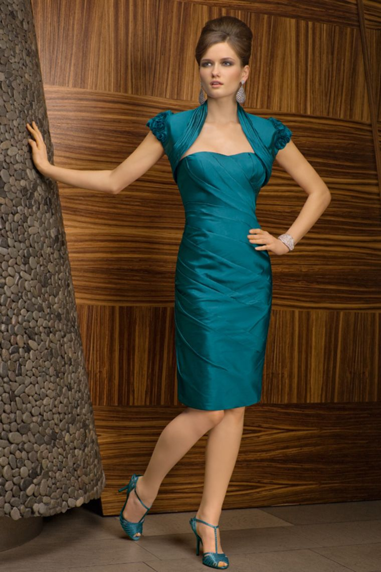 Strapless 2012 Collection Blue Mother Of The Bride Dresses Under 200