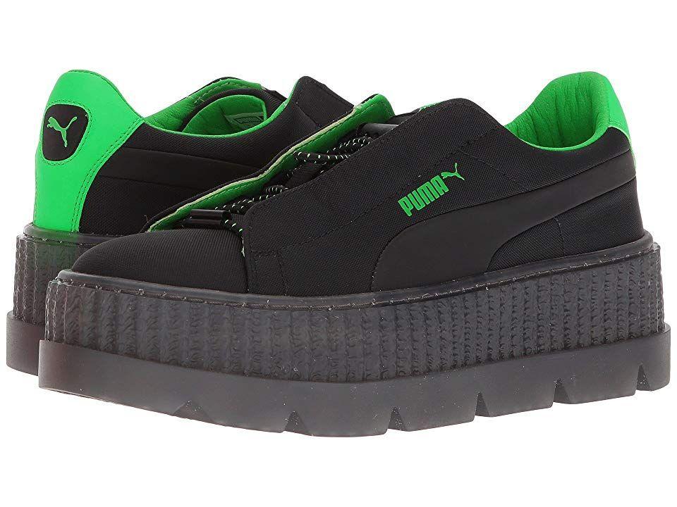8d19dc8099 PUMA Puma x Fenty by Rihanna Cleated Creeper Surf Women's Shoes Puma  Black/Green Gecko/Puma Black
