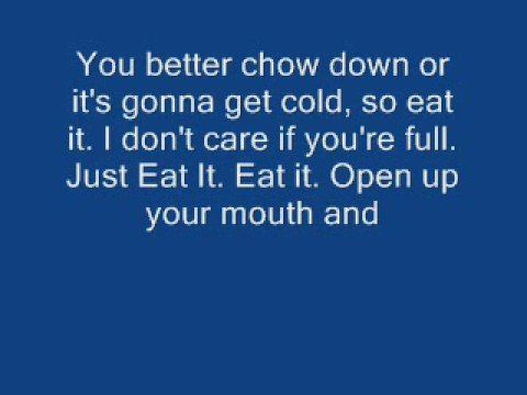Eat It Weird Al Yankovic With Lyrics Youtube Inspirational